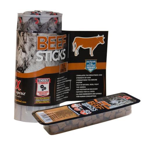 Snack para perros Alpha Spirit con buey