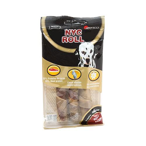 Roll snack para perros Barrita rellena de carne