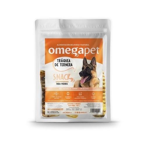 Snack de Tráquea de Ternera 100% natural para perros