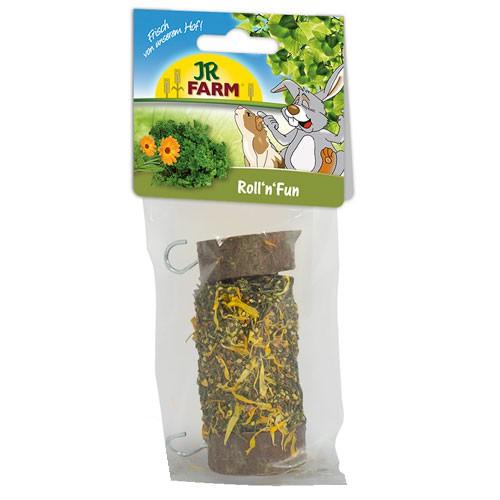 Snack rollito con hierbas para roedores y conejos JR Farm Roll´n´fun