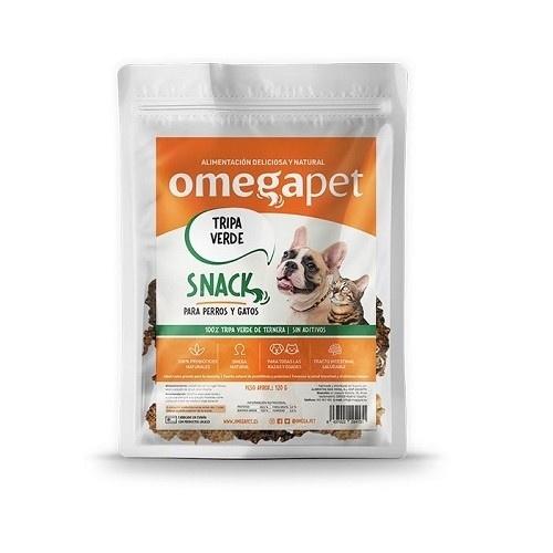 Snack de Tripa Verde de Ternera 100% natural para mascotas