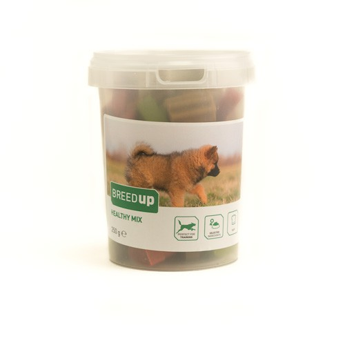 Snacks para perros Breed Up Healthy Mix