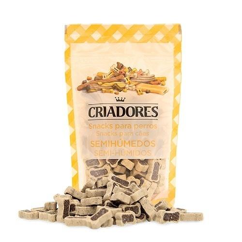 Snacks para perros Criadores Huesito Dúo cordero y arroz