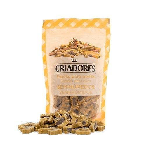 Snacks para perros Criadores Huesito Dúo presa