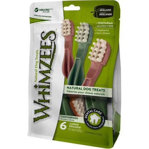 Snacks para perros grandes Whimzees cepillo dental