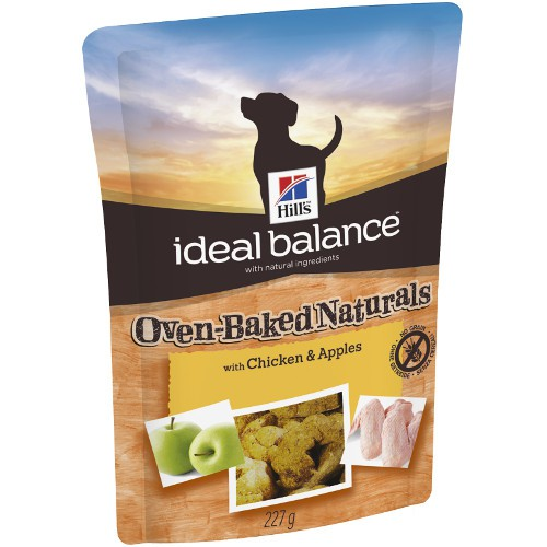 Snacks para perros Hill's Ideal Balance con pollo y manzana