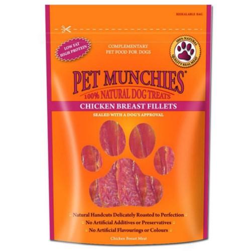 Snacks para perros Pet Munchies Chicken Breast Fillets filetes de pechuga de pollo