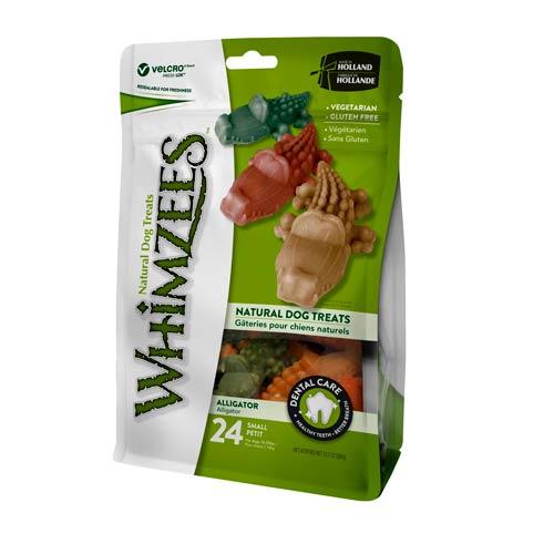 Snacks para perros pequeños Whimzees cocodrilo dental
