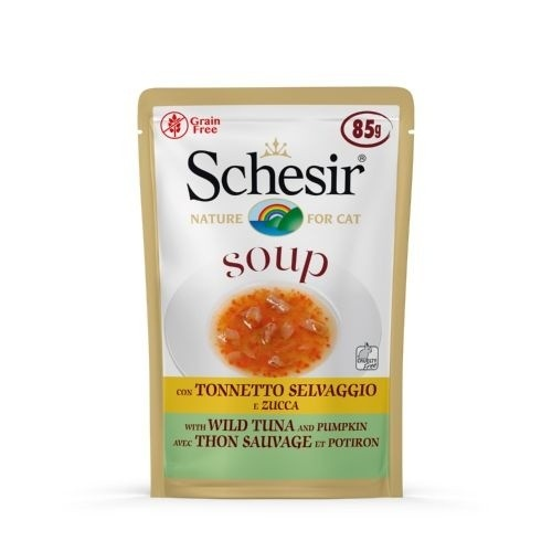 Sopa Schesir Atún y calabaza para gatos