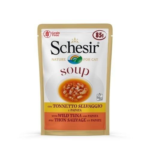 Sopa Schesir Atún y papaya para gatos