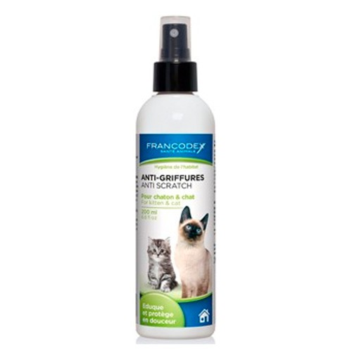 Spray educador para gatos anti arañazos Francodex