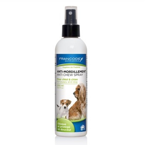 Spray educador para perros anti mordeduras Francodex