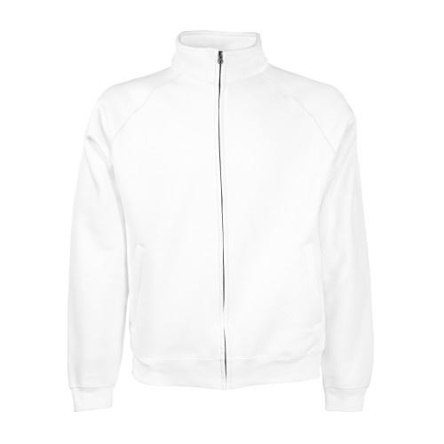 Sudadera para jinete con cremallera color Blanco