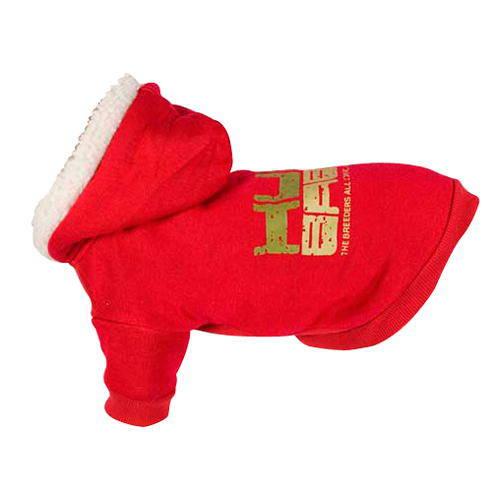 Sudadera elástica capucha Hum baby roja