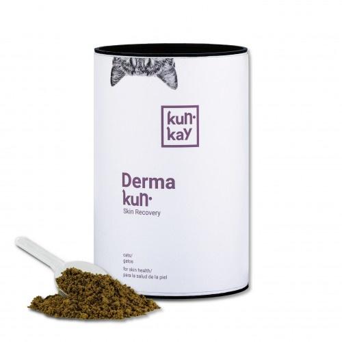 Suplemento Dermakun para la salud de la piel y el pelo de gatos