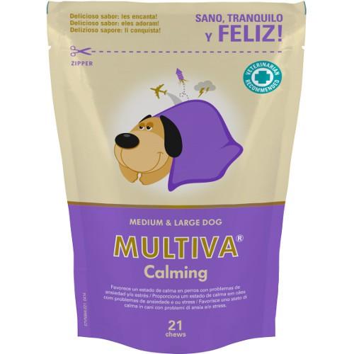 Suplemento nutricional antiestrés Multiva Calming perros medianos y grandes