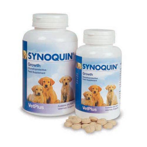 Condroprotector Synoquin crecimiento para cachorros