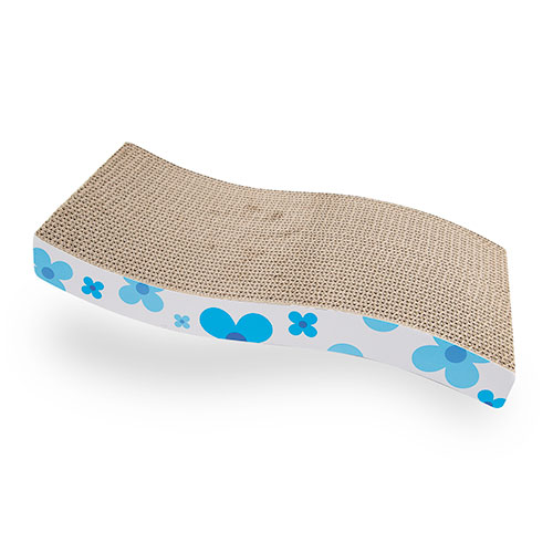 Tabla rascador para gatos TK-Pet Cat Flow azul
