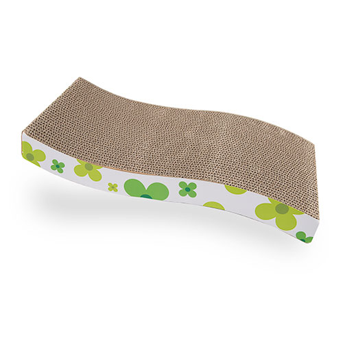 Tabla rascador para gatos TK-Pet Cat Flow verde
