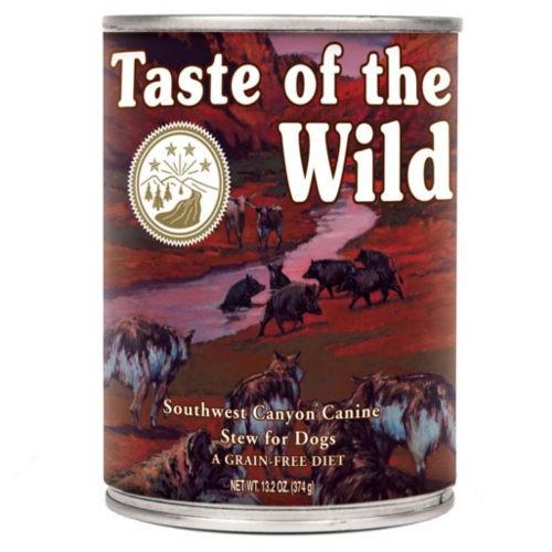 Taste of the Wild Southwest Canyon comida húmeda para perros