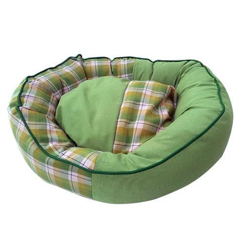 Technical Pet Cama ovalada verde para perro y gato