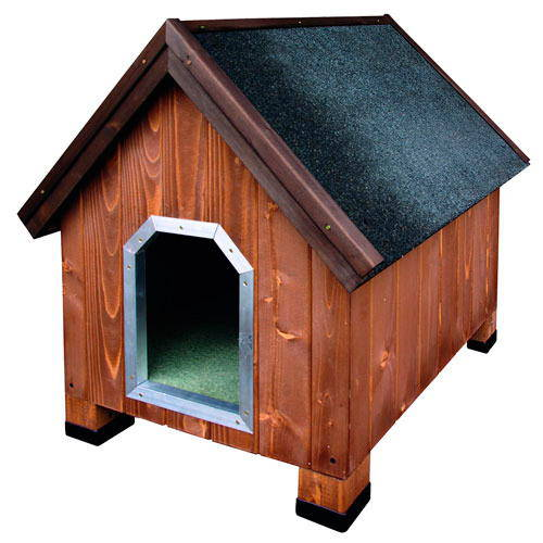 Technical Pet Dog House Alpine Wood