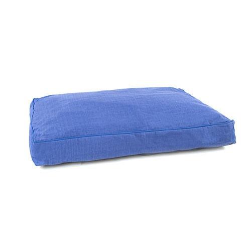 Technical pet colch n rectangular desenfundable azul para for Estanque prefabricado rectangular