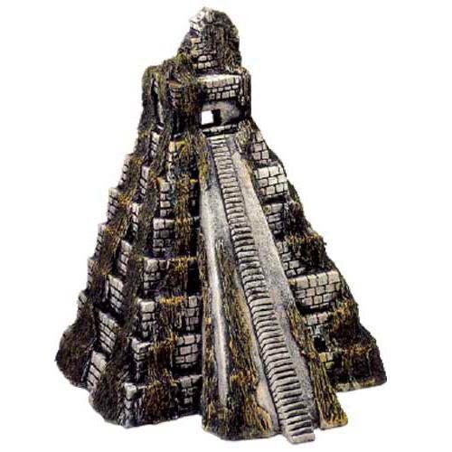 Templo azteca para acuarios