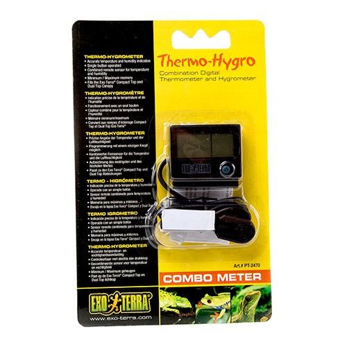 Higrometro+Termometro Combometer de Exo Terra