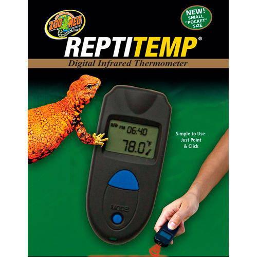 Termómetro compacto digital por infrarrojos Reptitemp de Zoo Med