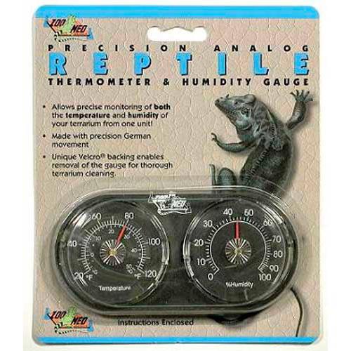Higrometro y Termometro Dual e Zoo Med