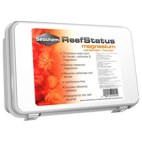 Test de Magnesio y Alcalinidad Reef Status Magnesium