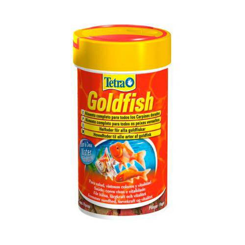 Tetra goldfish para peces de agua fr a tiendanimal for Alimentacion para peces de agua fria