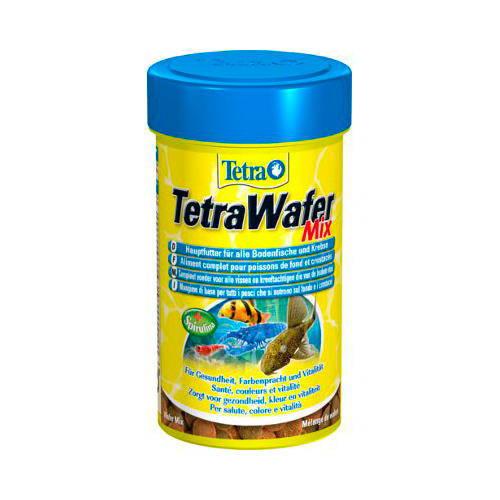 TetraWafer Mix para peces fitófagos y carnívoros de fondo