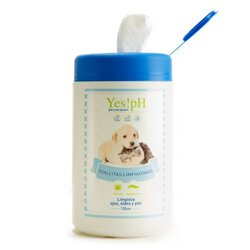 Cleaning wipes for pets Yes!pH