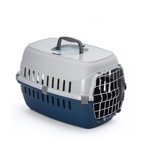 Transportín para perros y gatos Outech color azul