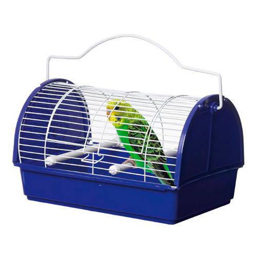 Transportín-jaula especial para pájaros y roedores