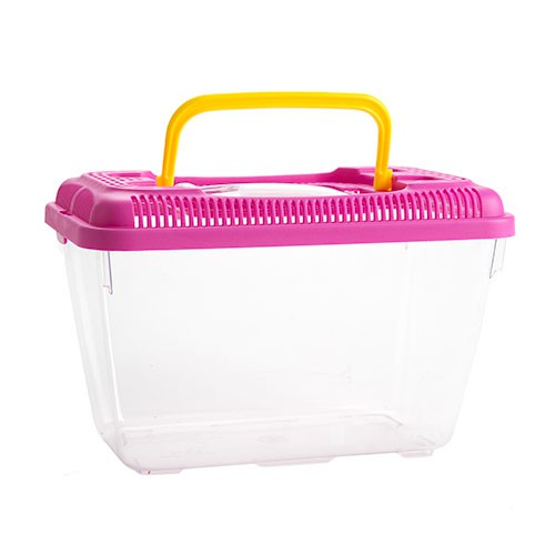 Pet carrier for rodents, reptiles, fishes and insects