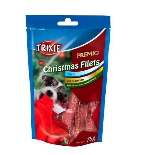 Christmas filets pechugas de pollo deshidratadas para perros