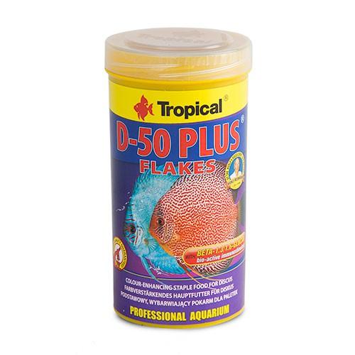 Tropical D-50 Plus alimento en escamas para discos