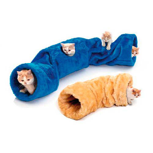 Tunel con sonido para gatos