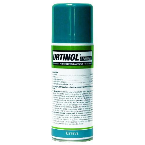 Urtinol antiparasitario para perros y gatos ambiental en aerosol