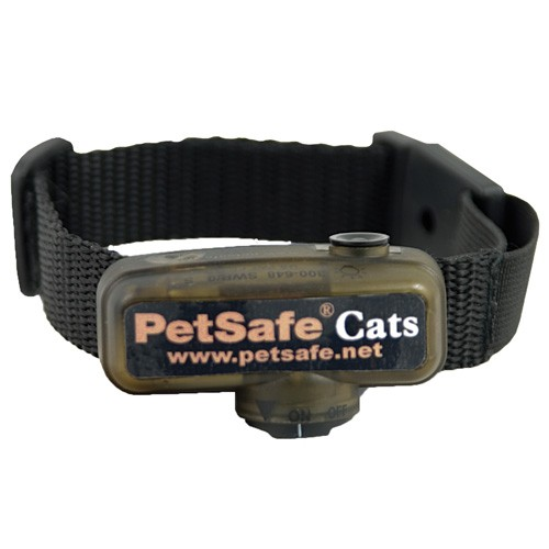 Valla invisible antiescapes para gatos, collar adicional
