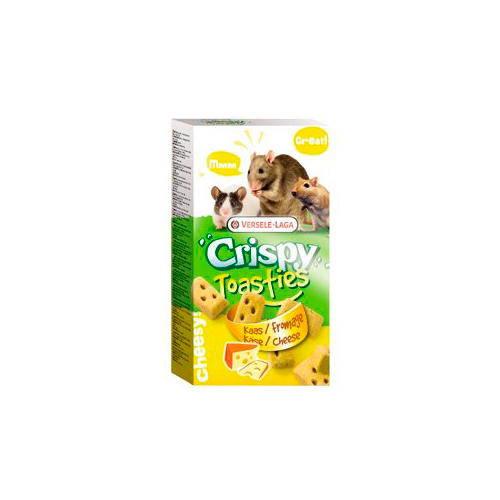Versele-Laga Crispy Toasties Queso para Hámsters, Ratones y Rata