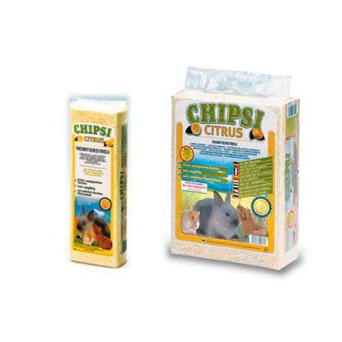Viruta aromatizada citrus para pequeños animales