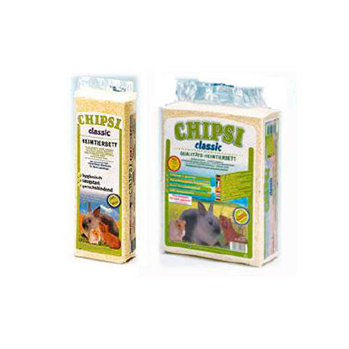 Viruta natural clasica para pequeños animales