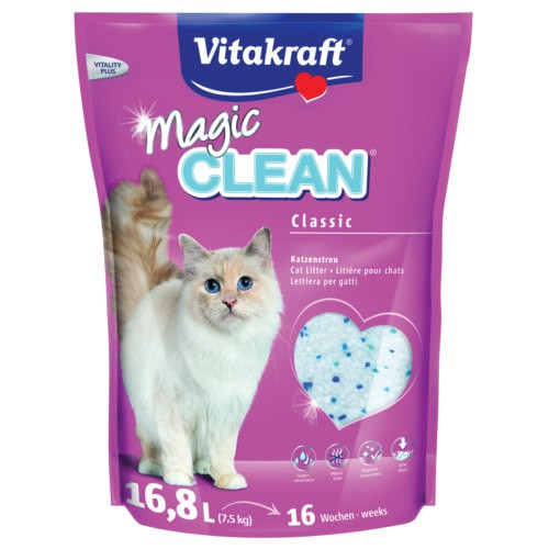 Vitakraft Magic Clean arena de sílice para gatos