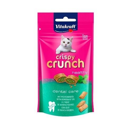 Vitakraft snacks dentales Crispy Crunch para gatos