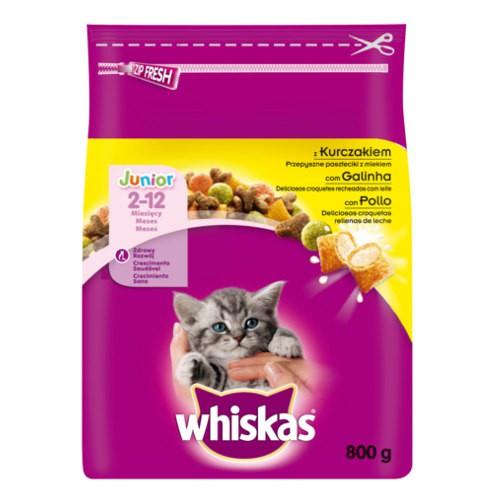 whiskas junior pienso para gatitos con pollo - tiendanimal