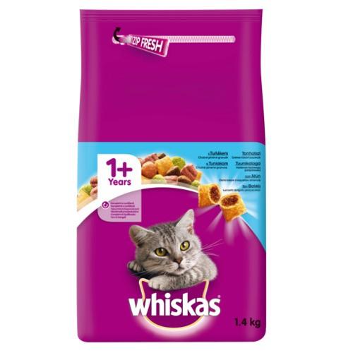 Whiskas pienso para gatos con atún